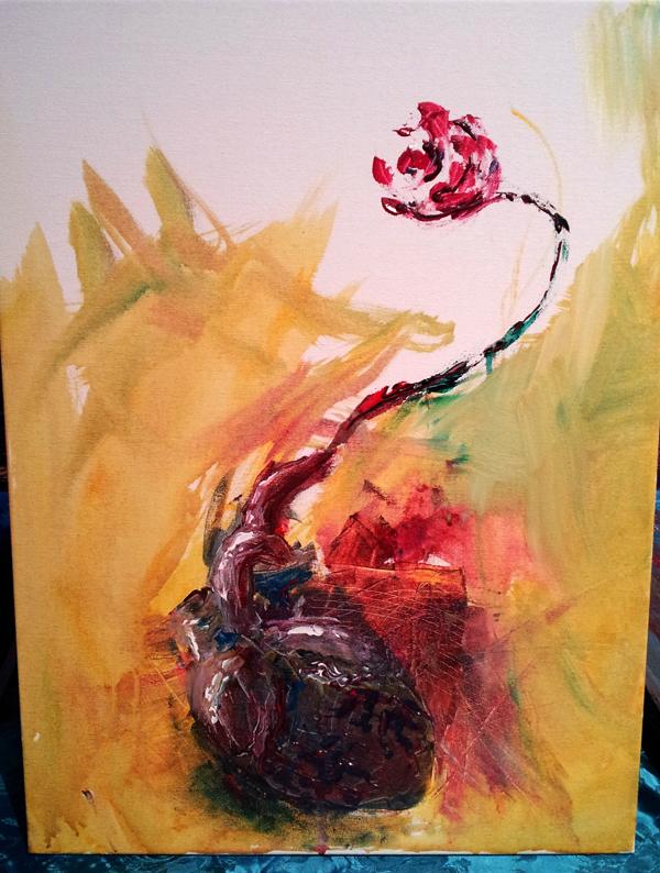 Bernstein Heart Rose